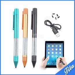 Penna di capacità di penna stilo ACTIVE ACTIVE per tablet Penna di tocco di stilo di alta qualità per iPad Sumsung telefono Tablet Android da