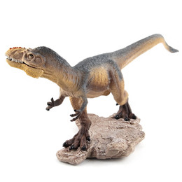 """детская игрушка Скидка Динозавр цифры Yutyrannus 10"""" реалистичные подробные динозавр игрушки для детей большие подарки и Партии пользу"""