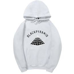 Черный спортивный костюм из хлопка онлайн-4AM  Chris Brown BLACK PYRAMID Hip Hop Hoodie Men And Women Sweatshirts Skateboard Street Style Cotton Tracksuit Hoodies