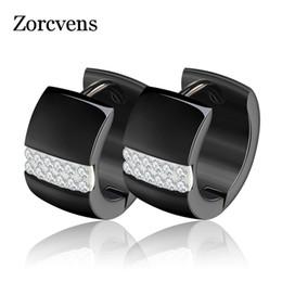 Wholesale Ear Cuffs Stones - whole saleZORCVENS Luxury Ear Cuff Earring CZ Hoop Earrings with Zircon Stone Women Birthday Gifts