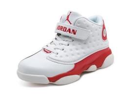 Свободные детские баскетбольные туфли онлайн-2019 NEW Designer Baby 13 Kids Баскетбольная обувь Молодежная детская Спортивная 13s Спортивная обувь для мальчиков девочек Размер обуви: 28-35. Бесплатная доставка