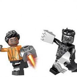 Wholesale toy avenger - Kids Intelligence Building Blocks The Avenger Super Heroes Hulk Children Minifigs Set DIY Educational Toys Hot Sale 2 8jh WW