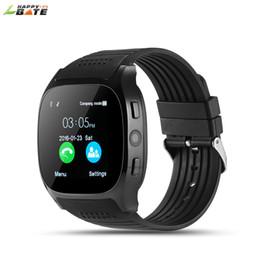 Проигрыватель камеры онлайн-HAPPYBATE T8 Smart Watch With Camera Music Player FacFor Android Phone watch pedometer sleep monitoring