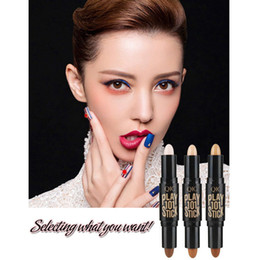 Wholesale Normal Pencil - QIC 3D Corrector Contour Stick Makeup Bronzers Highlighters Pen Cosmetic Highlighter For Face Concealer Contouring For Woman 3001228