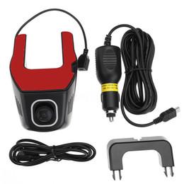 Wholesale Hd Dual Dash Cam - WiFi Car DVR 1080P Dual Lens Hidden DVR Camera G-Sensor Motion Detection Dash Cam