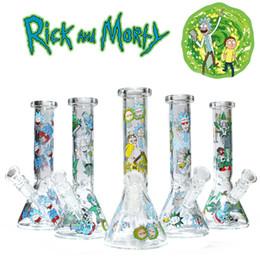 """Pipas del burbujeador online-Nuevo 8 """"vaso de vidrio bong bongs tuberías de agua plataformas petrolíferas tuberías de agua burbujeador de vidrio envío gratis"""