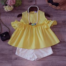 aae2be1ba 2019 sudadera amarilla bebé Conjuntos de ropa para bebés bebés y niños  conjunto de sudaderas de