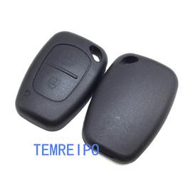 nissan car shell caso remoto Desconto 2 Botão Remoto Shell Chave Do Carro para Opel Vivaro Renault Trafic Vauxhall Nissan Primastar Caso Fob