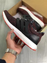 Wholesale Woman Chinese Shoes - ORIGINALS ULTRA BOOST 4.0 CHINESE NEW YEAR CNY Men Running Shoes 2018 UB 4.0 Multicolor Black Primeknit Breathable Sports Sneakers