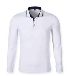 13fe3b11fdc 2019 рубашки поло с длинным рукавом xs Осень мужчины рубашка поло мужская с длинным  рукавом твердые