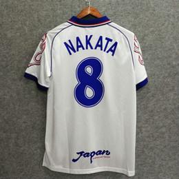 Clásicos japón 1998 retro jersey de fútbol nombre personalizado NAKATA 8  camisetas de fútbol aaa calidad hogar lejos manga larga tamaño asiático M L  XL XXL ... 6dd1b9dd6af4f