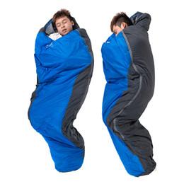 Wholesale shapes sleeping bags - 220*83cm Folding Waterproof Sleeping Bag Ultralight nylon Mini Mummy shape Portable Outdoor Camping Travel Hiking Sleeping Bag