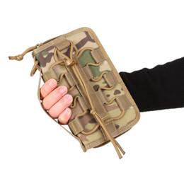 Canada 20 * 12 * 3CM X-LOCK tactique portefeuille sac à main carte de crédit paquet EDC sac en nylon sac de téléphone mobile sacs Offre