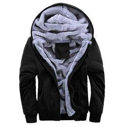 Canada Mens hiver chaud épais vestes couleurs solides manteaux à capuchon homme plus la taille vêtements 4XL 5XL livraison gratuite cheap 4xl mens winter coats Offre