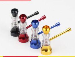 Wholesale Small Hourglasses - Portable creative Mini cigarette mouth export pipe hourglass small water pipe