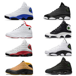 Capitano sportivo online-Scarpe da basket uomo sneaker 13s capitano blu bianco Got Game Scarpe sportive low cost di Chicago CP3 PE OG 13S Home scarpe sportive flint