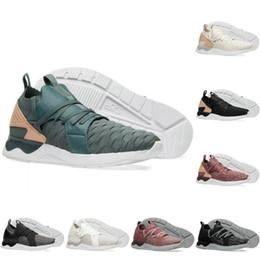zapatos verde bosque Rebajas 2018 Asics Nuevo Gel-Lyte V Sanze Knit 5s Zapatos ligeros para correr Trébol de bosque verde Empeine de tejer Zapatos ocasionales Zapatillas deportivas 36-45