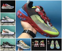 Wholesale sneaker cover - New Design 2018 AIR Epic React Element Men running shoes Jun TAKAHASHI designers lightweight walking Rest Under Cover Mens sport sneakers