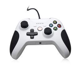 hochwertiger joystick Rabatt Hochwertiger, weißer, kabelloser Gamepad-Controller (618S) für die Xbox One Slim Ersatz-verkabelter Joystick für die Xbox One Slim