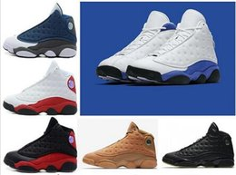 Wholesale royal pc - High Quality hyper royal 13 13s Altitude Wheat Bred DMP Chicago mens basketball shoes sneakers Sports trainers US 8-13