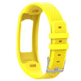 Gran pulsera de correa de reloj de silicona deporte para Garmin Vivofit 1 pulsera de muñeca Vivofit 2 pulsera Smartwatch accesorios desde fabricantes
