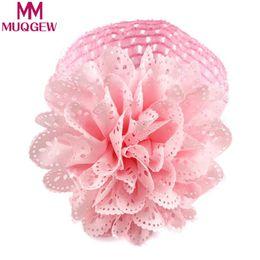 MUQGEW Baby Kids Girls Lace Flower Hairband Diadema Dress Up Banda para la cabeza Niños banda de pelo hueco flor desde fabricantes