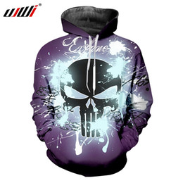 UJWI Man Trend Mask Skulls Hip Hop Hoodies 3D Printed Men s Favorite  Fashion Street Clothing Blue Glitter Pullover f710a535d51a
