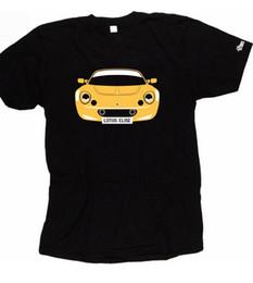 Argentina Camiseta CUSTOM HTees - LOTUS ELISE S1 y S2, placa de color pick car, S-XXXL Suministro