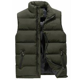 Wholesale Thick Down Vest - New Fashion Men Plus Size Packable Down Quilted Vest Outwear Puffer Vest