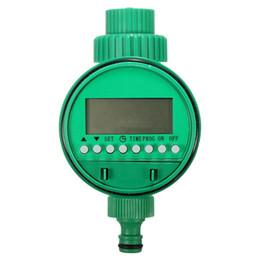 riego con temporizador de agua Rebajas ELECTRÓNICO PANTALLA LCD TEMPORIZADOR DE AGUA AUTOMÁTICO JARDÍN MANGUERA SISTEMA DE RIEGO PLANTA