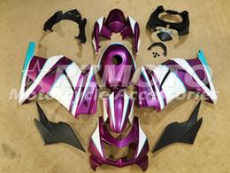 Wholesale Pink Kawasaki Fairing Kits - New fairings set Fit for Kawasaki Ninja 250R ZX250R ZX 250 2008 - 2012 EX250 08 09 10 11 12 bodywork fairing kit+Tank cover pink matte
