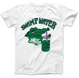 Argentina Camiseta Swamp Water As Worn By Joey 100% algodón de calidad superior Ramone Manga corta Diseño divertido Suministro