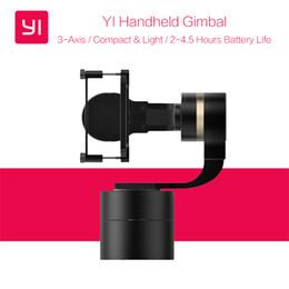 2019 originale xiaomi yi camera Originale XiaoYi palmare Gimbal a 3 assi Pan / Tilt / Roll regolazione manuale Stabilizzatore a 320 gradi per Xiaomi YI 4K / 4K + Action Camera sconti originale xiaomi yi camera
