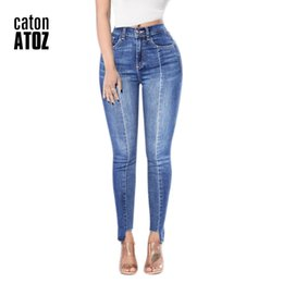 a8fb38d7ae2c 2154 Women`s Fashion Sexy Ankle Jeans Patchwork Stretch Slim Fit Ripped Denim  Pants Skinny Jeans Woman High Waist Femme sexy stretch jeans on sale