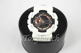 Niño nuevo reloj deportivo online-1 unids Nuevo relogio G110 + caja de relojes deportivos para hombres, pequeños punteros sin reloj de pulsera, reloj militar, reloj digital, buen regalo para hombre, dropship