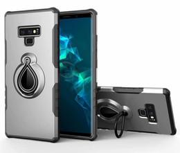 Cubierta de la caja de la gota de agua del iphone online-Estuche para armaduras magnéticas para gotas de lluvia Estuche protector contra golpes para iPhone XS MAX X 8 7 6 Plus Samsung Note 9 8 S9 S8 Plus J2 PRO OPP