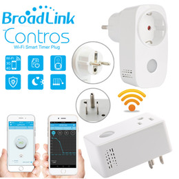 Wholesale Power Meter Socket - Broadlink Sp3,SP3S Power Meter Monitor,16A+Timer wifi socket plug outlet Smart remote wireless Controls for iphone Ipad Android