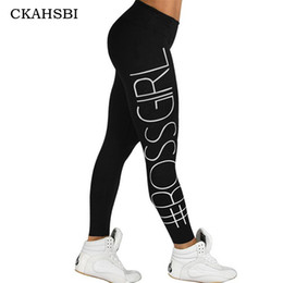 Wholesale Tight Black Leggins - CKAHSBI Yoga Pants Women Fitness Sexy Hips Push Up Leggings Breathable Running Tights Sportswear Leggins Sport Women 4 Colors