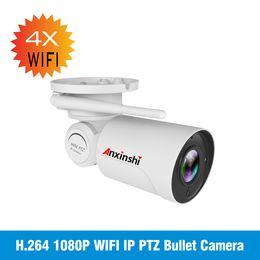 Cámaras de visión nocturna de vigilancia a prueba de intemperie online-1080 P exterior inalámbrico WiFi Cámara IP HD Resistente a la intemperie 2 megapíxeles Visión nocturna P2P IR-cortes Vigilancia Camere para seguridad en el hogar