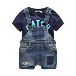conjuntos de ropa de playa para niños Rebajas Baby Boy Clothes Sets Casual  recién nacido ropa 31a6c9f908a