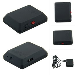 Tarjeta sim gps tracker online-X009 GSM Tarjeta SIM Mini Cámara Videocámara Audio Video Recorder SOS GPS Tracker DV Cámara DVR Cam