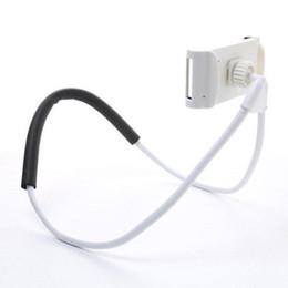 Deutschland Flexible Halskette Handy Telefon Ständer Halter Selfie Stick für 360 Grad drehen iPhone Samsung Car Desktop faule Halterung Halter Clip Versorgung