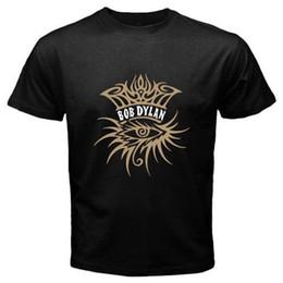 Canada Nouveau Tee shirt Noir Homme Bob Dylan Style Symbole Rock Music Legend Offre