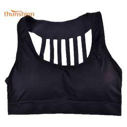 Wholesale Girl Wear Bra - THUNSHION Fitness Top Women Sports Bras for Teenage Girls Breast Feeding Yoga Running Daily Wear Quick Dry Seamless Bra Push Up