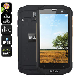 Wholesale Qualcomm Gps - MANN ZUG 5S+ 3GB RAM 32GB ROM ip67 Rugged Waterproof phone Qualcomm Quad Core Android 4.4 13.0MP Dual Sim HOT SALE