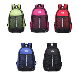 Wholesale bags colors - The North Backpack Casual Backpacks 5 Colors Travel Outdoor Sports Bags Teenager Students School Bag Outdoor Bags OOA5107
