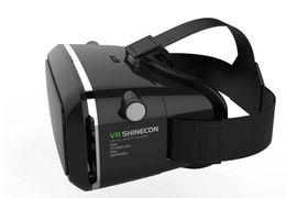 Versiones de caja vr online-Anskp VR Versión Gafas de realidad virtual Gafas 3D Cascos Teléfono inteligente VR Box + GamePad