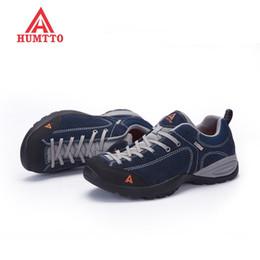 Nuevos Zapatos de senderismo Mujeres al aire libre Camping Zapatillas Hombres Caza Invierno Trekking Outventure Antideslizante Escalada Deporte Goma Con cordones desde fabricantes