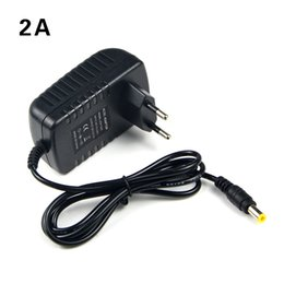 Wholesale Ac Dc Jack - 110V-240V to 12V 2A 24W AC DC Adapter Power Supply Charger EU US Plug 5.5mmx2.1-2.5mm Jack