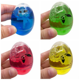 Wholesale Aliens Kid - Egg Alien Soft Crystal Slime Slime Scented Squeeze Sludge Toys Stress Relief Toy Egg Crystal Slime Mud Decompression Toys CCA9358 624pcs